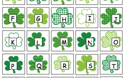 St. Patrick's Day File Folder Activities