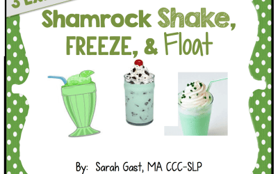 Shamrock Floats, Freezes, and Shakes!!!