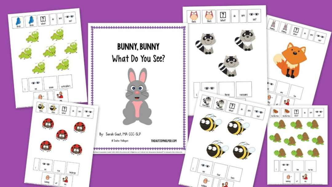 Bunny Book Pages