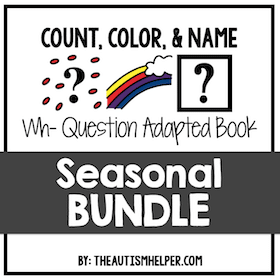 Count, Color, and Match {BUNDLE}