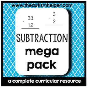 Subtraction Mega Pack