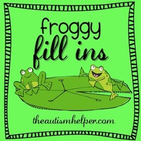 Froggy Fill Ins