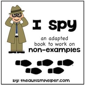 I Spy {Non-Examples}