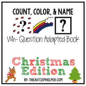 Count, Color, and Name – Christmas