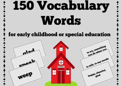 150 Vocabulary Words