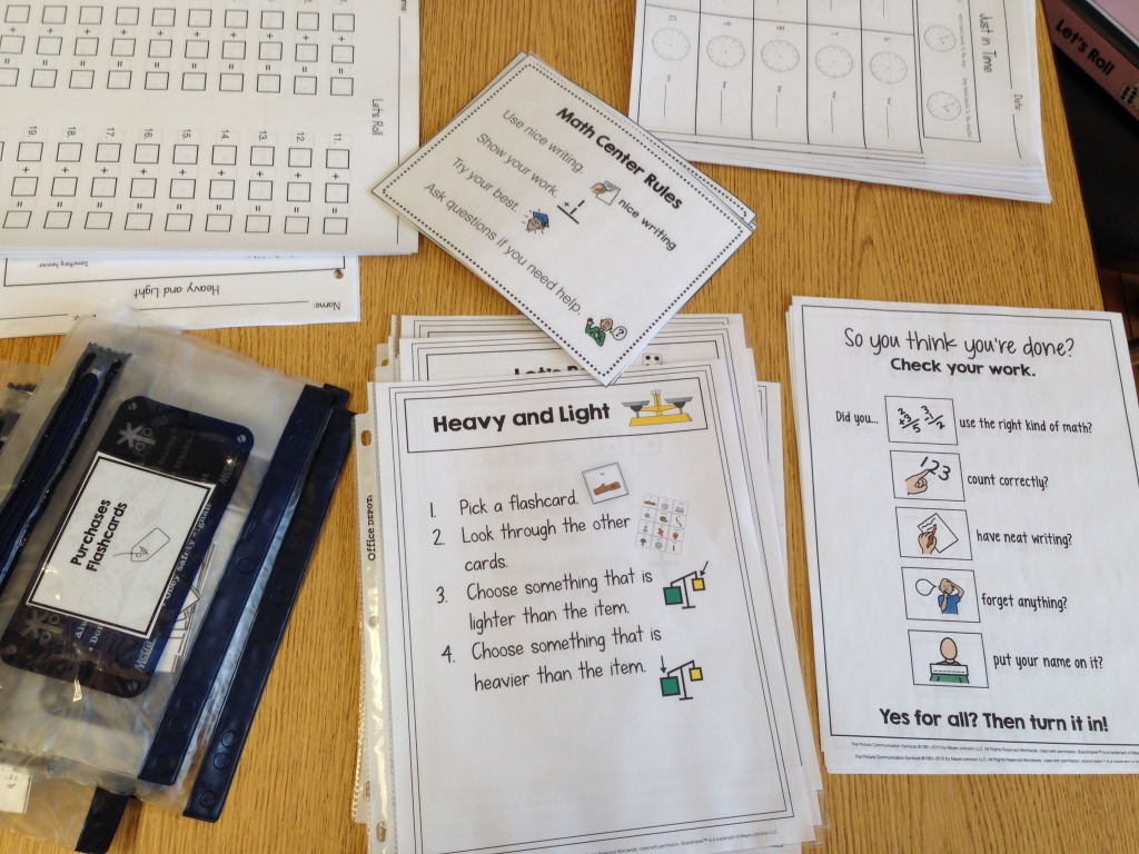 10 Math Centers For Early Childhood Or Special Education