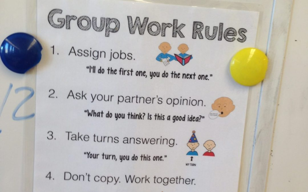 Group Work Rules {free download}