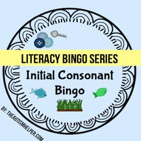 Initial Consonant Bingo