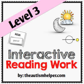 Interactive Reading Work {Level 3}