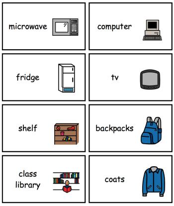 The Autism Helper - Label Supplies