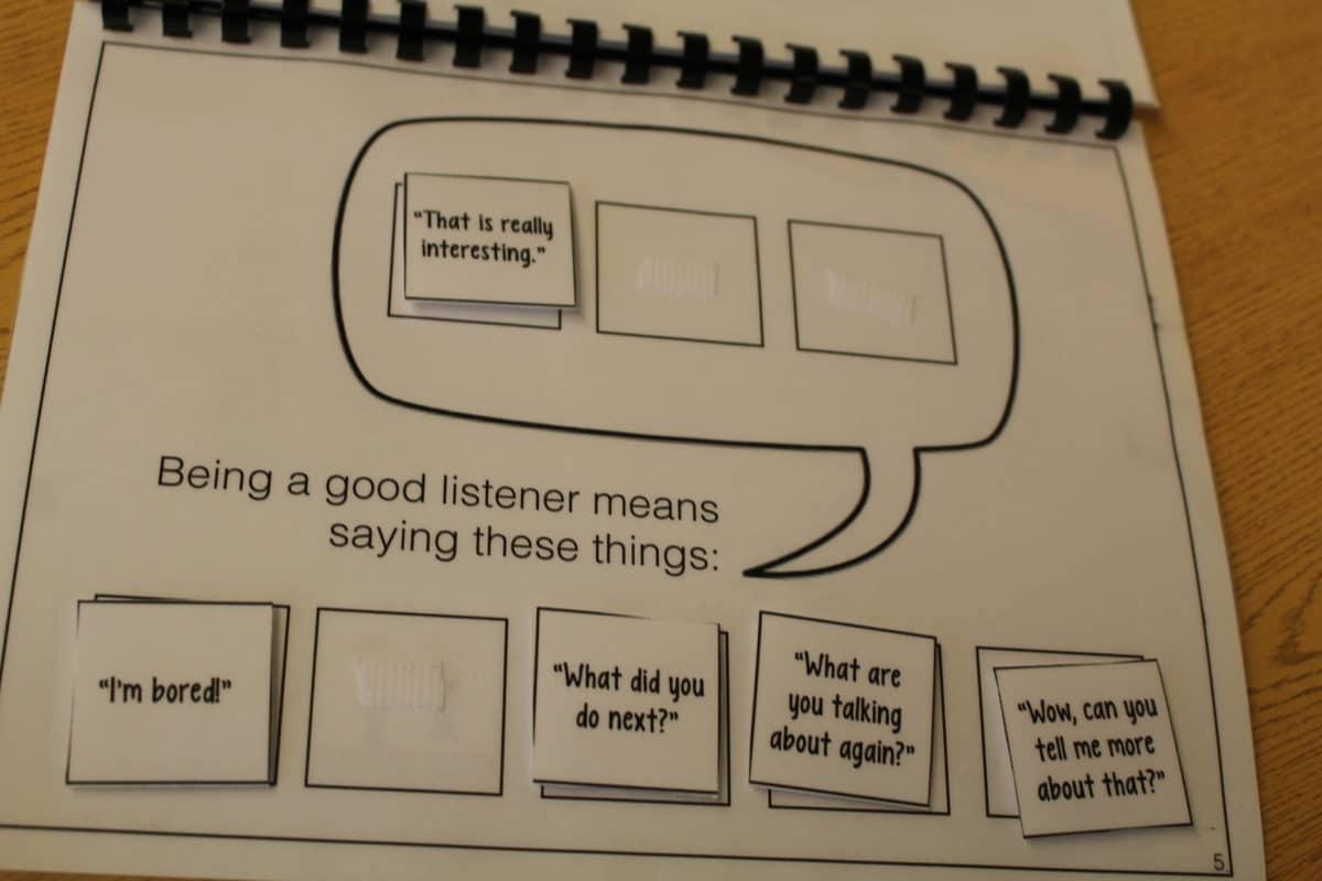 Teaching Conversation Skills