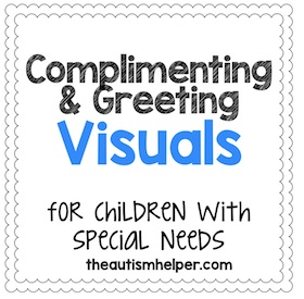 Commenting and Greeting Visuals for Students who are Nonverbal