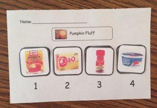 Pumpkin Fluff Sequencing