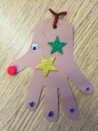 Finished Reindeer Craft 3