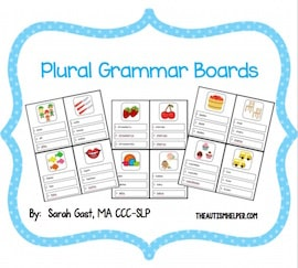 Plural Grammar Boards