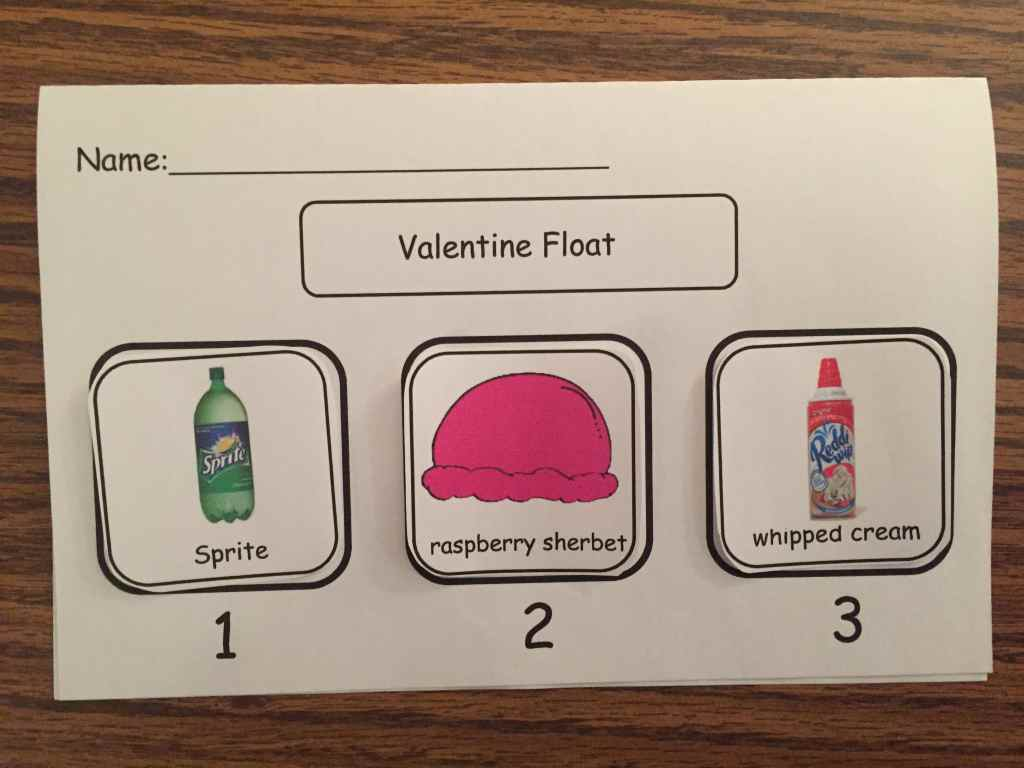 Valentine Float Sequencing