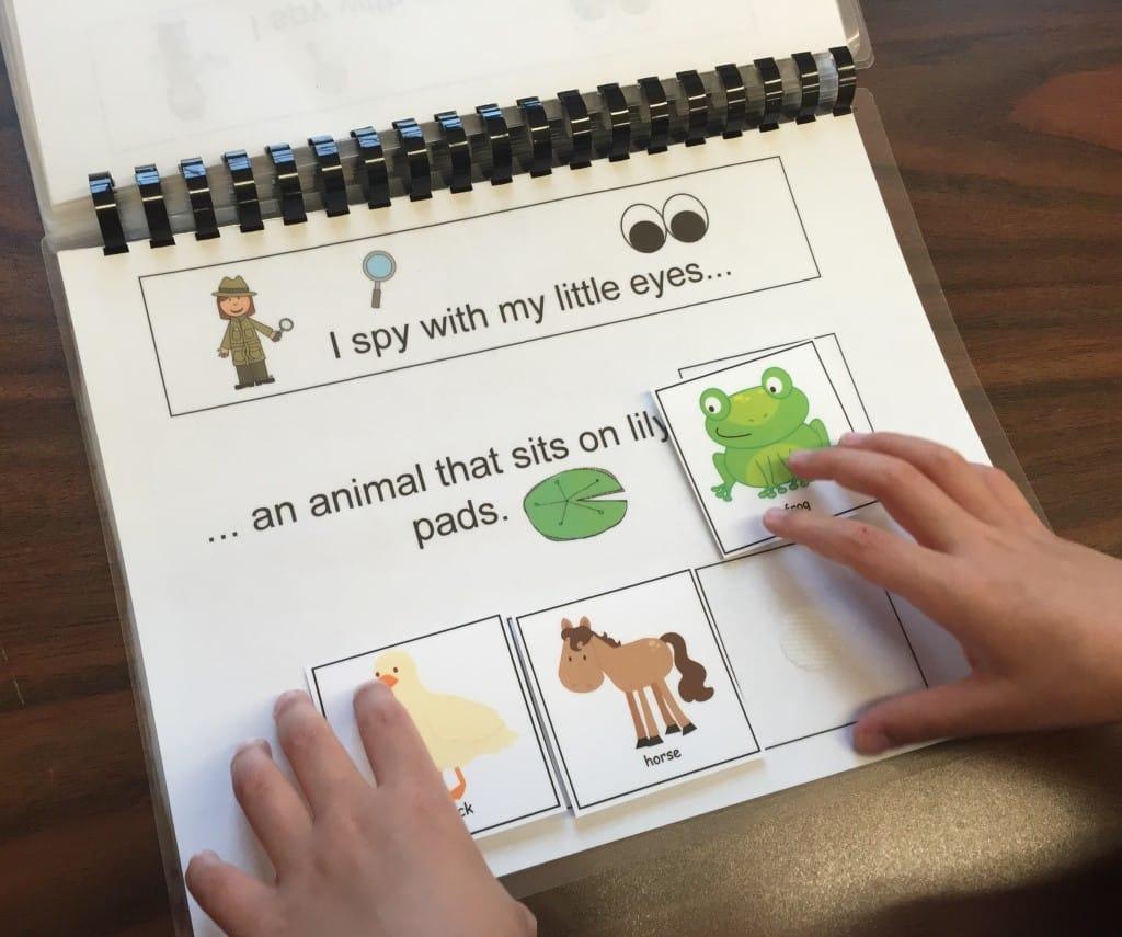 I Spy Animal Books