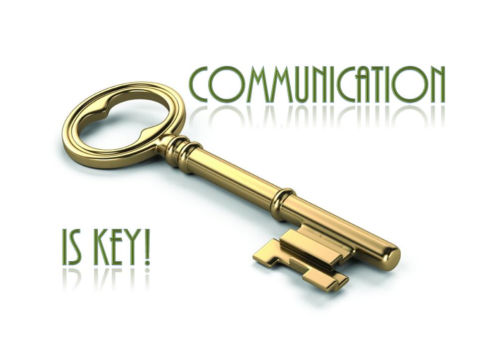 Communication is key 2