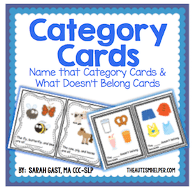 Category Task Cards