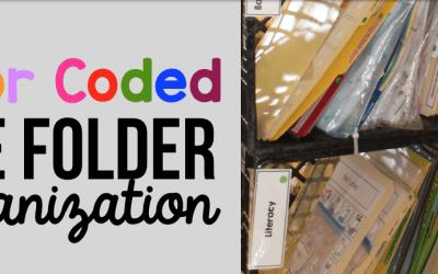 Organize Your File Folder Activities