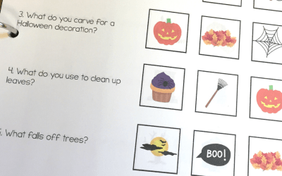 Halloween Makes Wh- Questions More Fun!