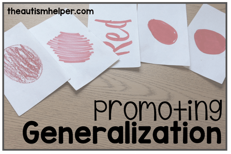 Generalization: Take it Away From the Table!