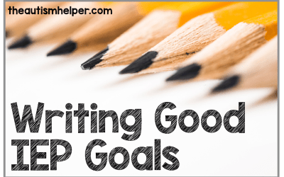 Writing Good IEP Goals