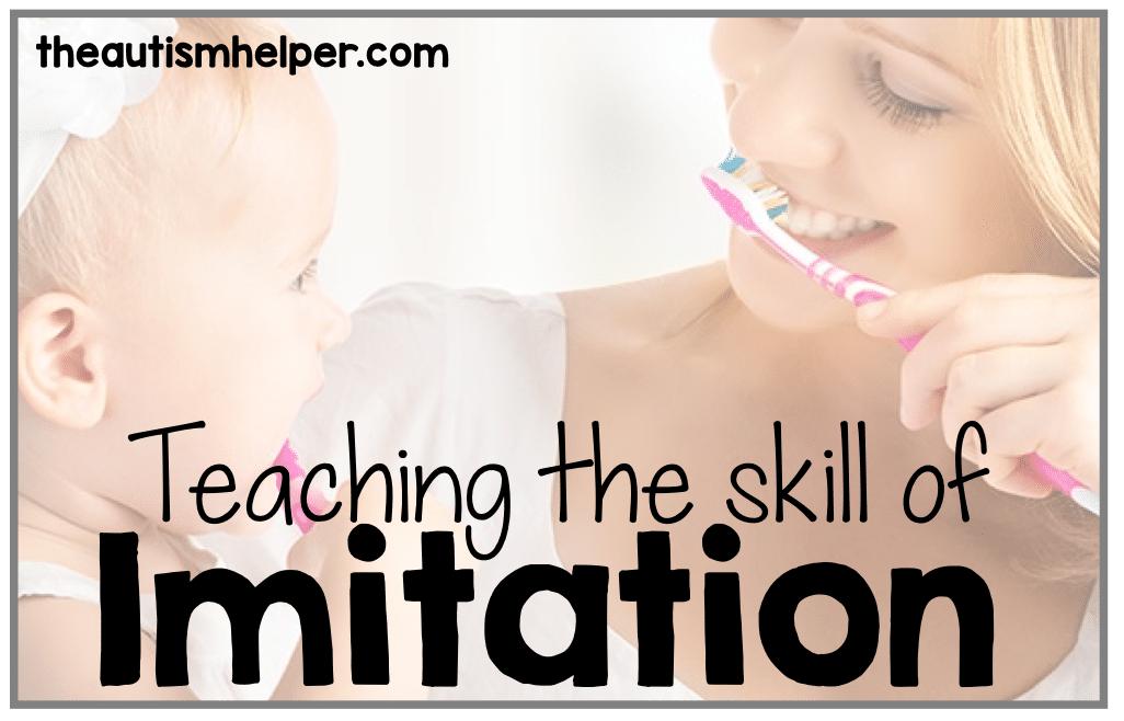 Teaching the Skill of Imitation