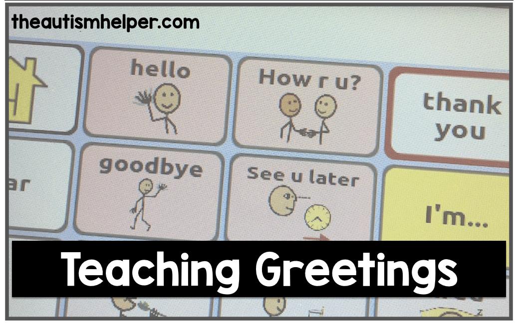 Teaching Greetings