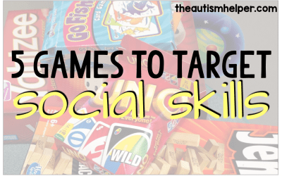 My 5 Favorite Games for Working on Social Skills