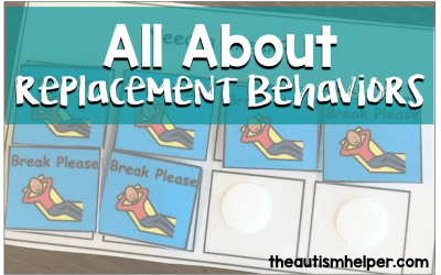 All About the Replacement Behavior