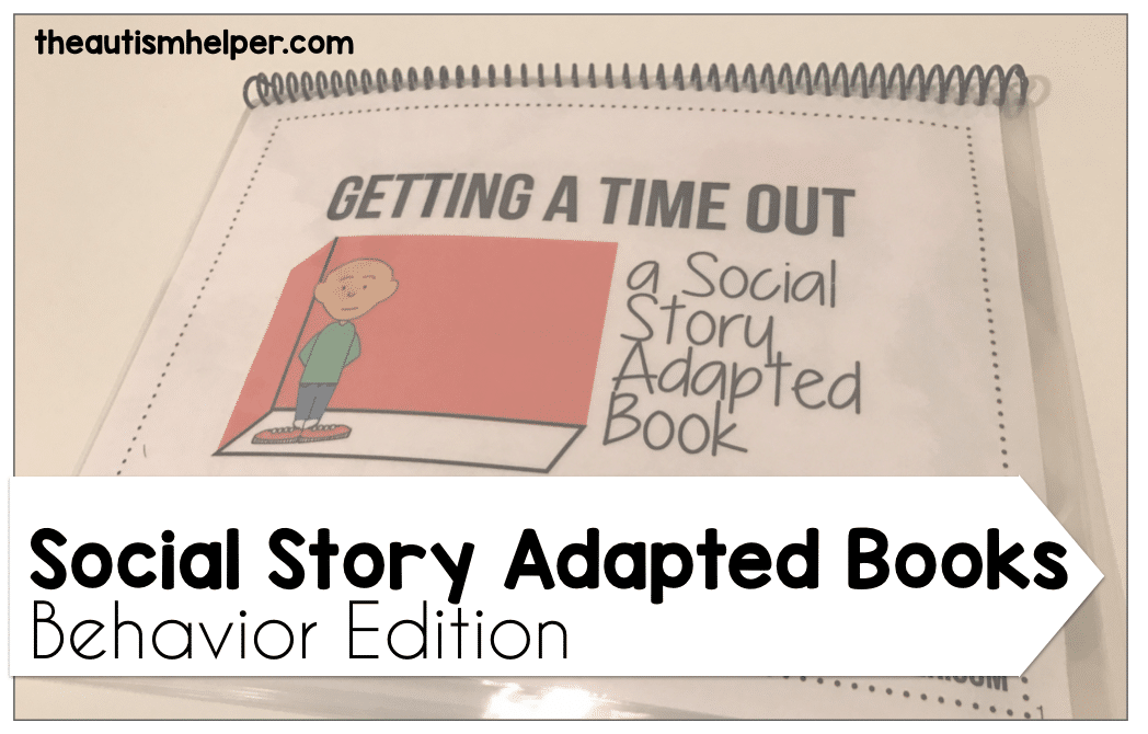 Social Story Adapted Books {Behavior Edition}