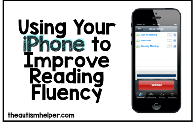Using Your iPhone to Improve Reading Fluency