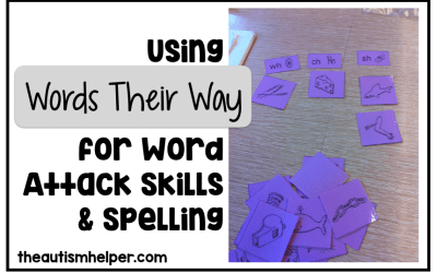 Using Words Their Way for Word Attack Skills & Spelling