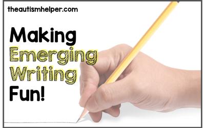 Making Emerging Writing Fun