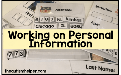 Working on Personal Information