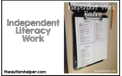 Independent Literacy Work