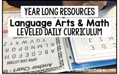 Language Arts and Math Leveled Daily Curriculum