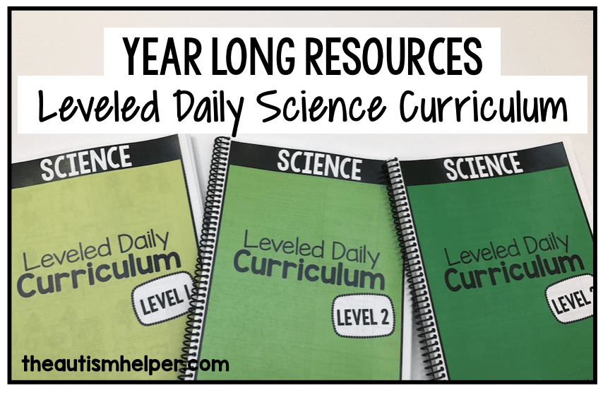 Science Leveled Daily Curriculum
