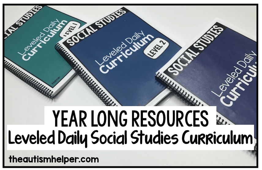 Social Studies Leveled Daily Curriculum