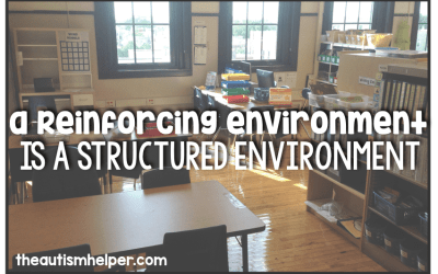 A Reinforcing Environment Equals a Structured Environment