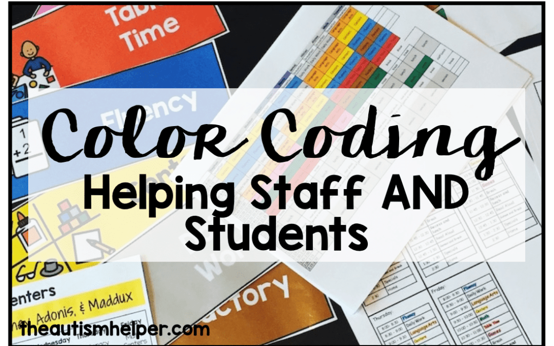 Color Coding: Helping Staff More than Students
