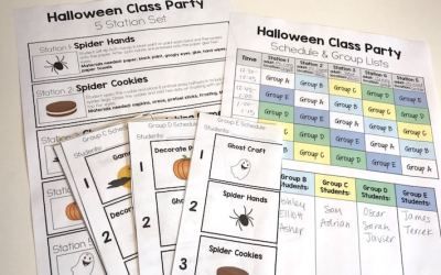 Tips for Throwing a Behavior-Free Class Party