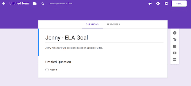 Using Google Forms To Collect Classroom Data The Autism Helper