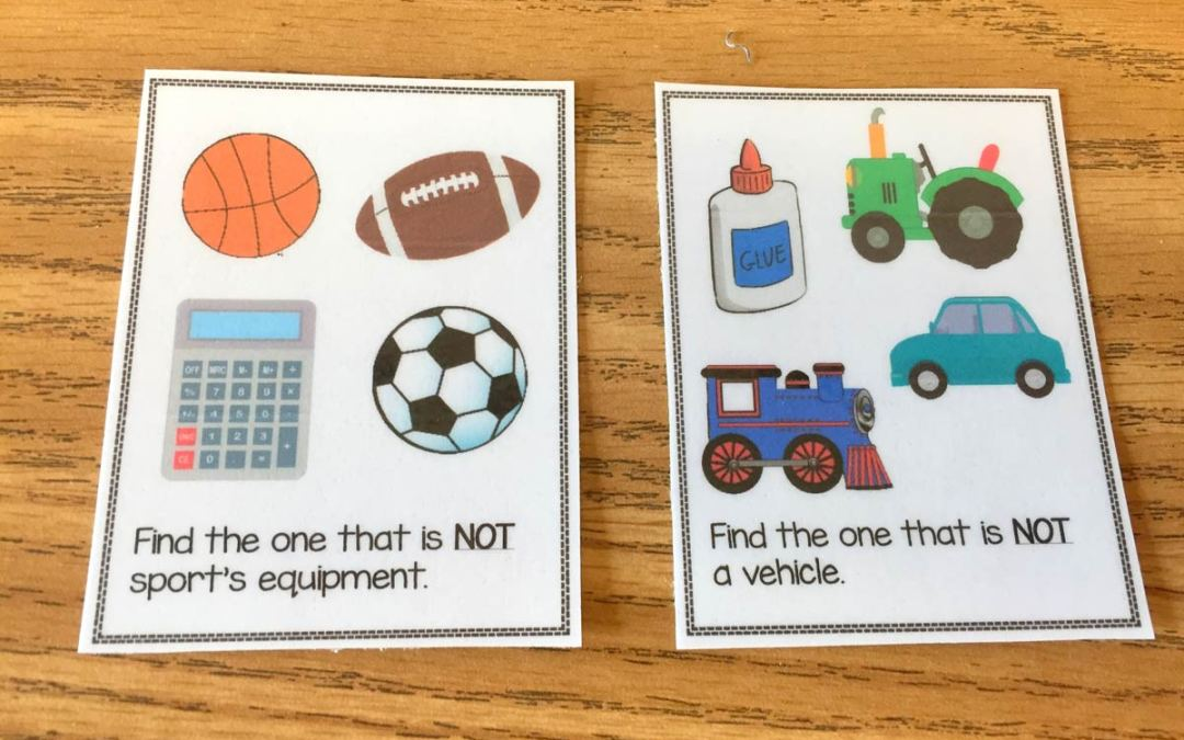 Non-Example Task Cards!