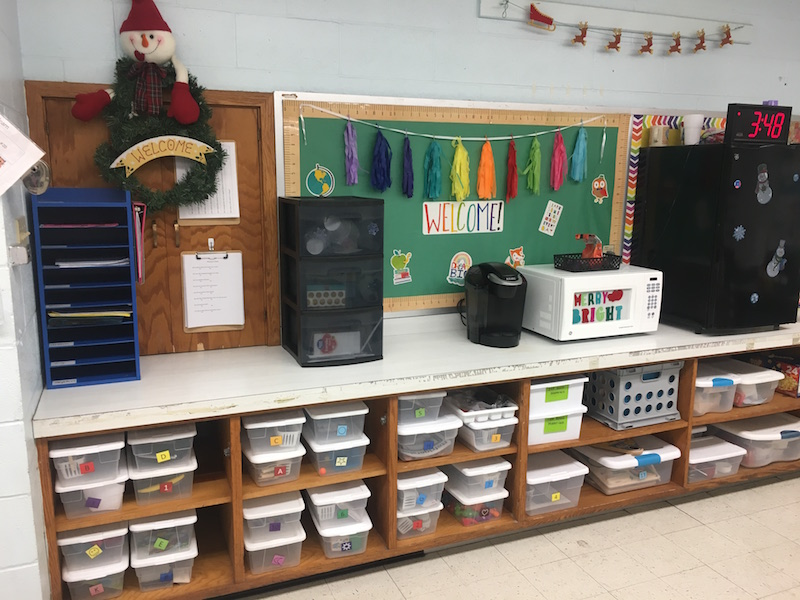TAH Teacher Spotlight: Abbey's Middle School Classroom