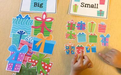 FREE Big/Small Christmas Sorts!