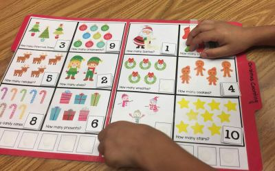 Free Christmas Counting Activity!