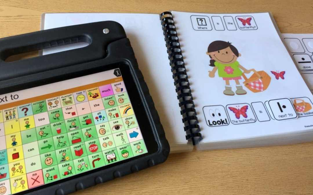 How to Use AAC with Adapted Books
