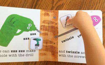 Tap Tap Bang Bang Book with Freebies